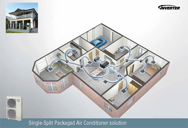 brivis refrigerated ducted cooling manual